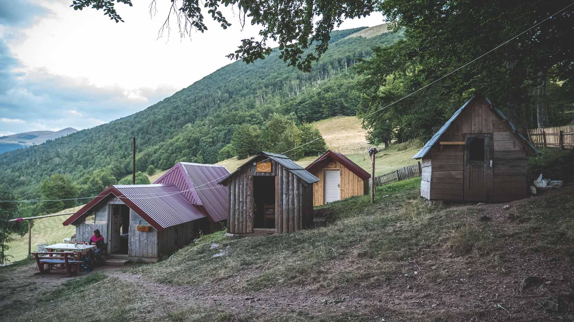 A Katun settlement in Biogradska Gora N