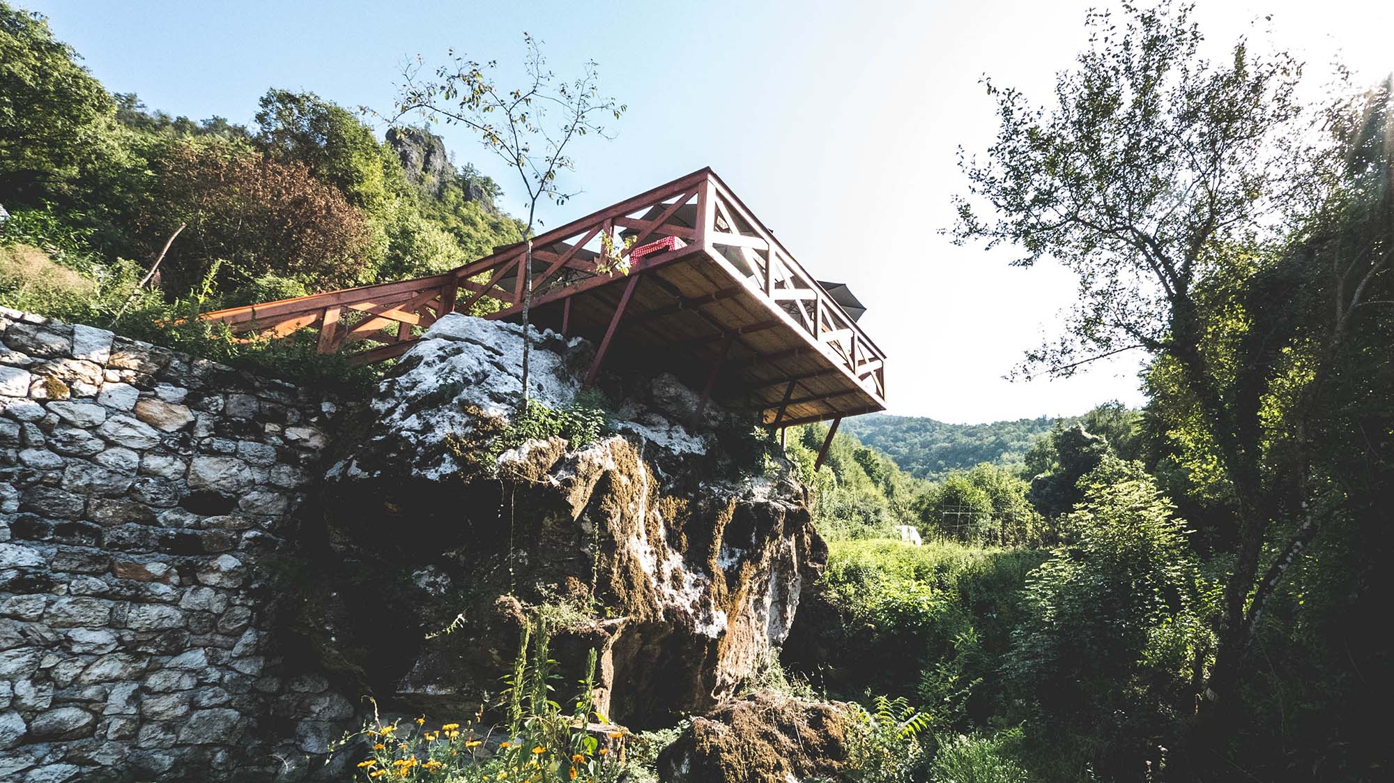 Accidental discovery: an organic paradise on the shore of lake skadar