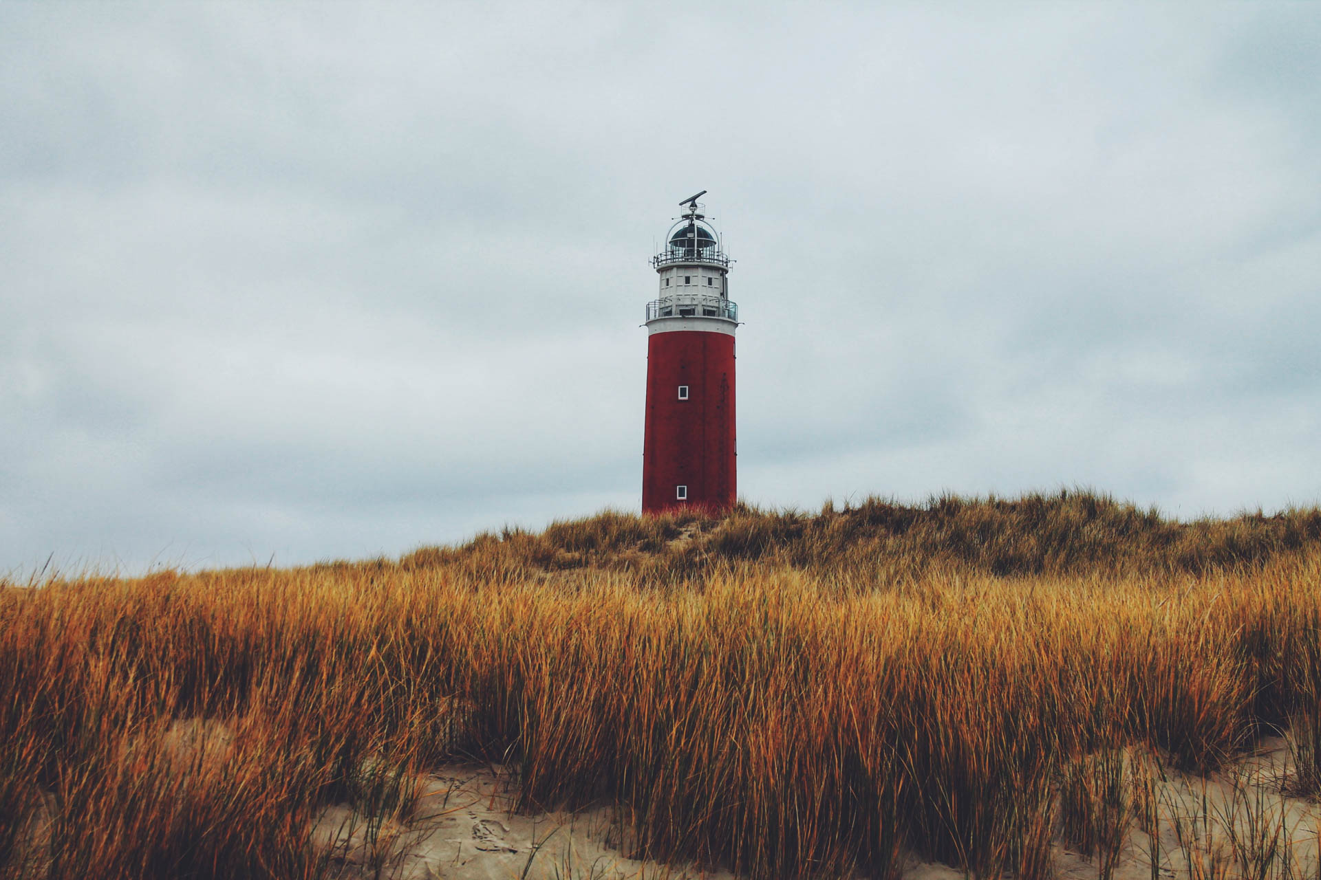 Lighthouse at Texel, the netherlands