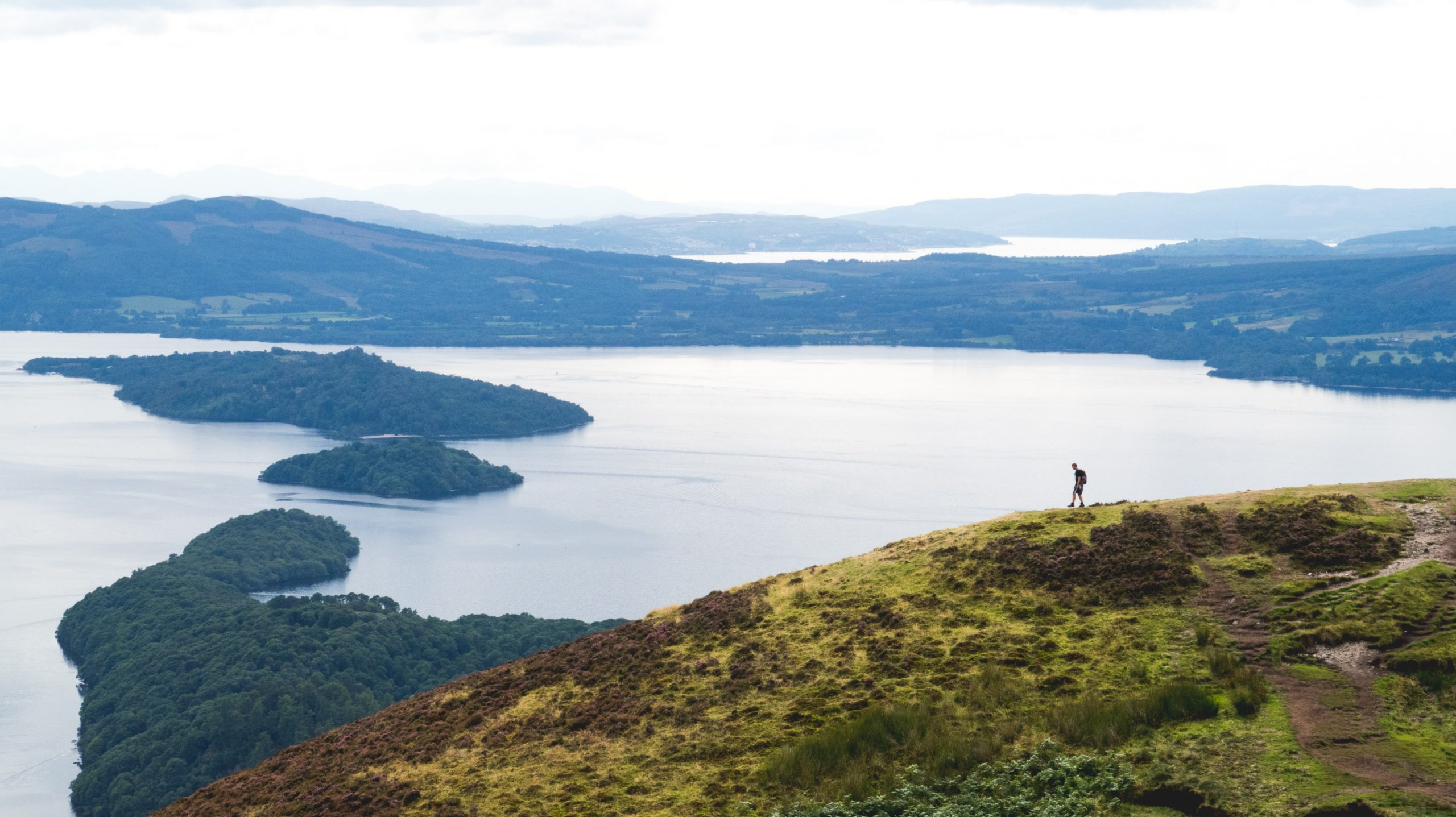 Hike to and around Conic Hill, Loch Lomond & the Trossachs